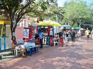 Who needs stores when you can setup on the street!