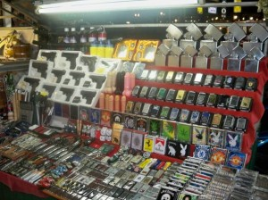 Guns, Tazers, Lighters... Dildos!?