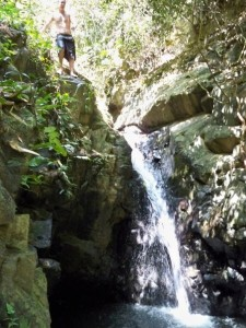 This waterfall was so refreshing!!