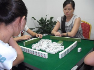 Mah Jong played for money