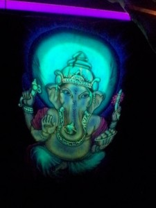 Glowing Elephant