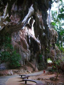 This was a long beautiful path to different parts of Railay